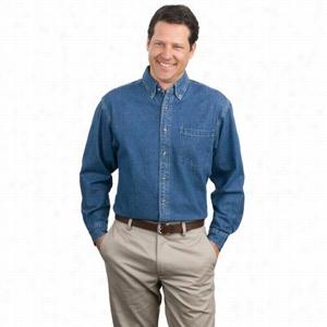 Port Authority Heavyweight Denim Shirt