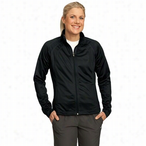 Sport-Tek Ladies Tricot Track Jacket