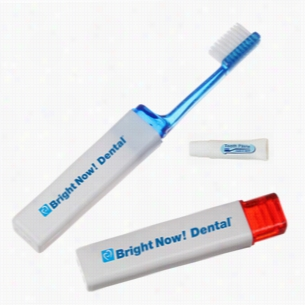 Travel Toothbrush Set