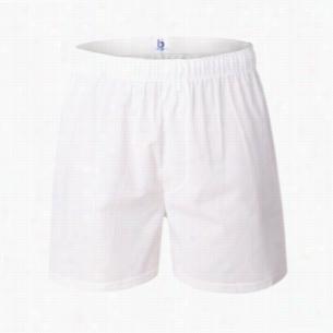 Boxercraft White Cotton Boxer
