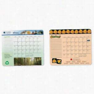"""12 Month MousePaper Calendar, 7 1/4"""" x 8 1/2"""" Landscape"""