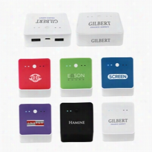 4000Square Portable USB Charger