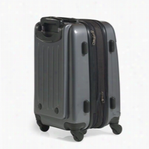 "Brookstone Dash II 20"" Upright Wheeled Luggage - Graphite"