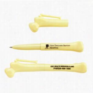 Cap Off Bone Shaped Ballpoint Pen
