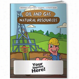 Coloring Book - Oil & Gas Natural Resources