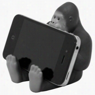 Gorilla Phone Holder Squeezies Stress Reliever
