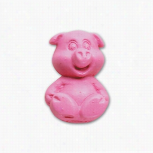 Pencil Top Stock Eraser- Happy Pig
