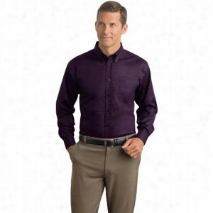 Red House Herringbone Non-Iron Button-Down Shirt