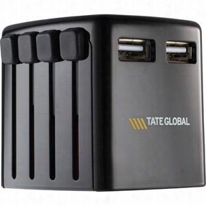 Skross World Dual USB Charger Adapter