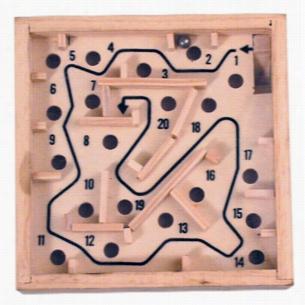 Wooden Maze Puzzle