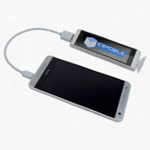2200mAh Selfie Power Bank w/Mirror Finish