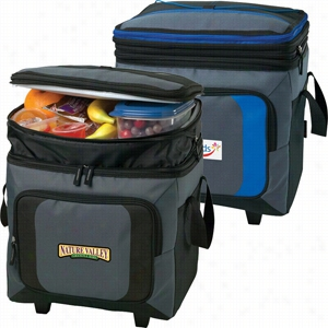 36 Can Roller Cooler w/Storage