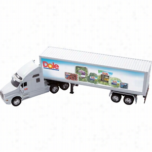 Die Cast Kenworth T2000 With Trailer (1:32 Scale)