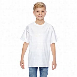 Hanes Youth 4.5 oz., 100% Ringspun Cotton nano-T T-Shirt
