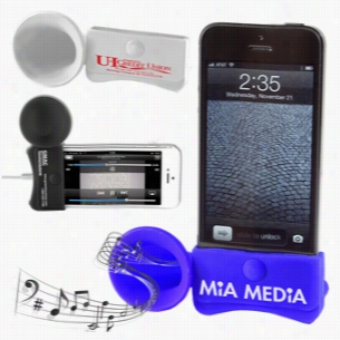 iPhone Megaphone Speaker and Stand