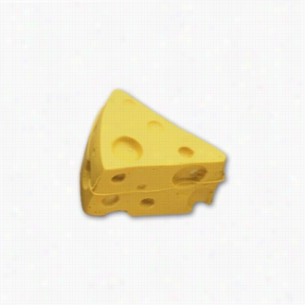 Pencil Top Stock Eraser- Cheese Wedge