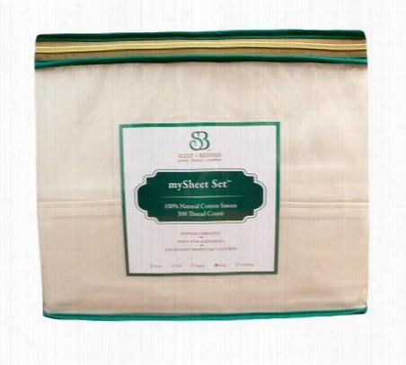 3 Piece Cotton Sheet Set Queen