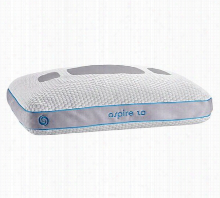 bedgear Aspire 1.0 Stomach Sleeper Pillow Standard