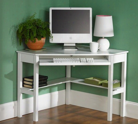 Corner Computer Desk One Size