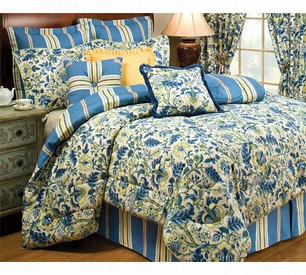 New! Imperial Dress 4 Piece Comforter Set King