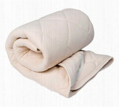 Serta Naturally Pure Cotton Mattress Topper Twin XL