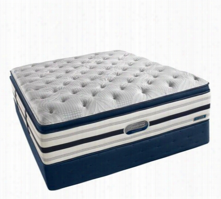 Simmons Beautyrest World Class Recharge Shakespeare Luxury Plush Super Pillowtop Mattress Twin