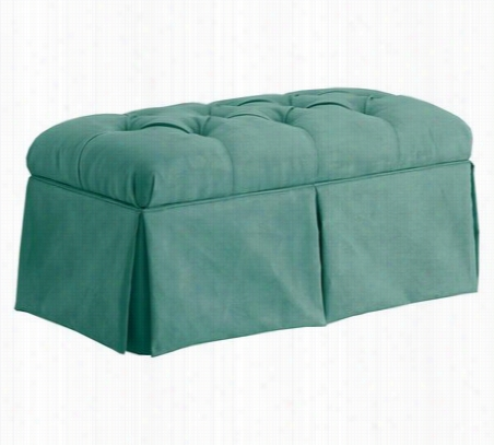 Skirted Storage Bench One Size