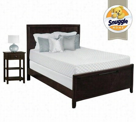 Snuggle Home Deluxe 12 Inch Gel Memory Foam Mattress Queen