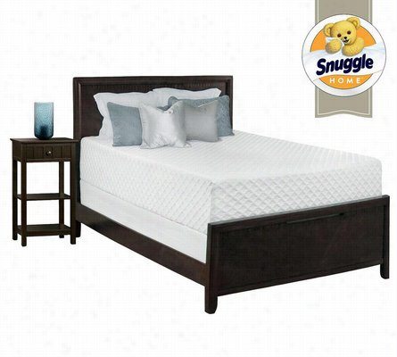 Snuggle Home Deluxe 14 Inch Gel Memory Foam Mattress Queen