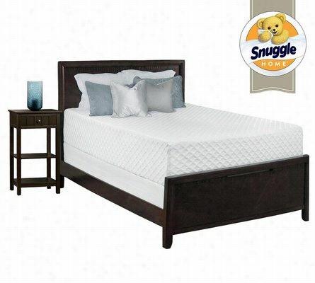 Snuggle Home Deluxe 14 Inch Gel Memory Foam Mattress Queen