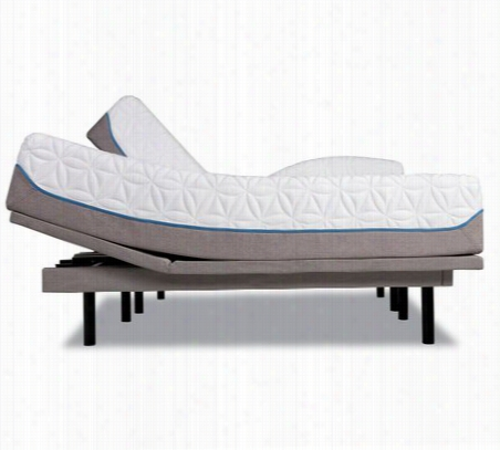Tempur-Ergo Plus Adjustable Base with TEMPUR-Cloud Luxe Mattress Splt Ca Kg (1-36x84)