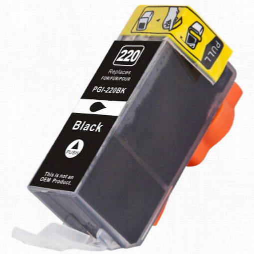 Premium compatible replacement Black ink cartridge for Canon PGi-220BK (2945B001)