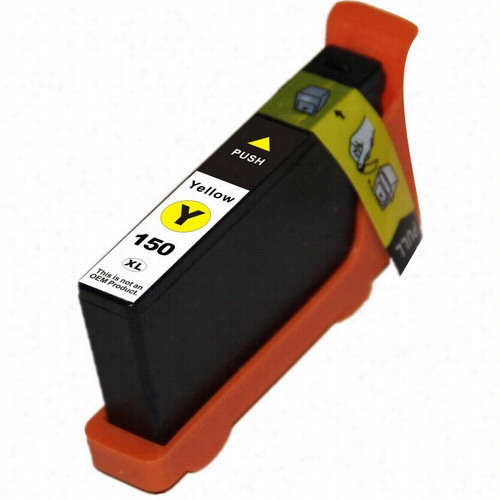 Premium compatible replacement Yellow ink cartridge for Lexmark 150XL (14N1610)