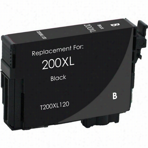 Premium remanufactured replacement Black ink cartridge for Epson T200XL120