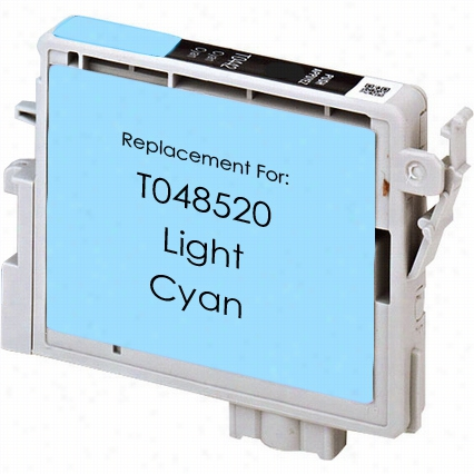 Premium remanufactured replacement Light Cyan ink cartridge for Epson T048520