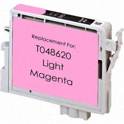 Premium remanufactured replacement Light Magenta ink cartridge for Epson T048620
