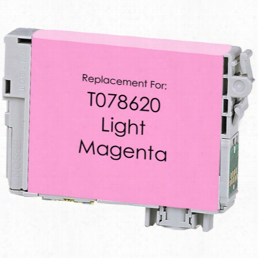 Premium remanufactured replacement Light Magenta ink cartridge for Epson T078620