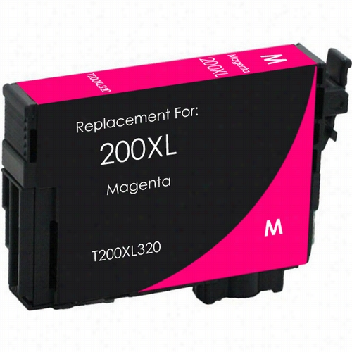 Premium remanufactured replacement Magenta ink cartridge for Epson T200XL320