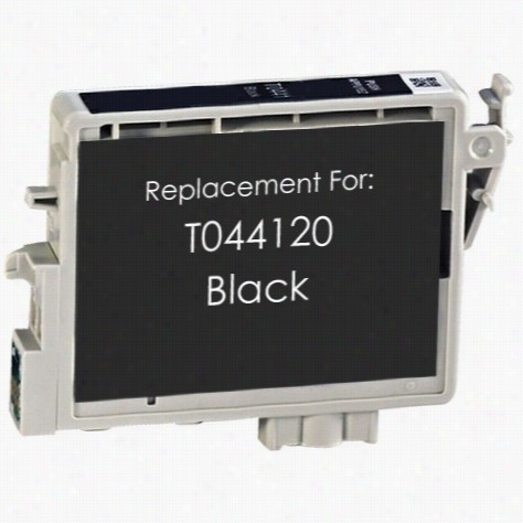 Premium remanufactured replacement Black ink cartridge for Epson T044120