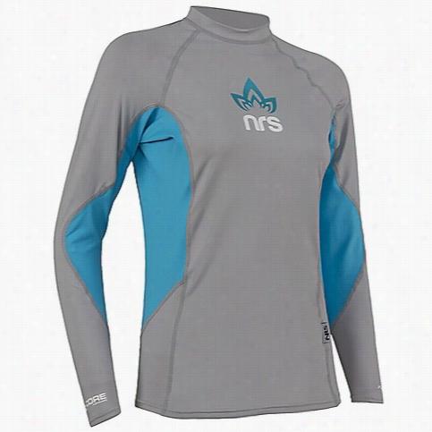 NRS Women's H2Core Rashguard LS Shirt