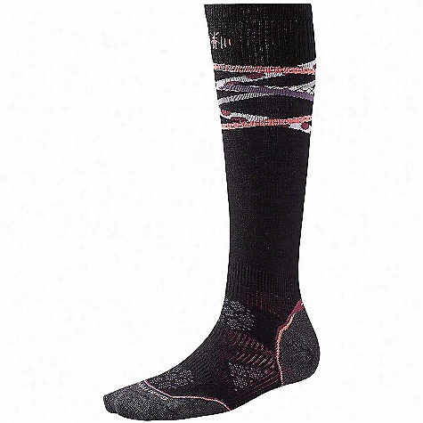 Smartwool Women's PhD Ski Ultra Light Pattern Sock