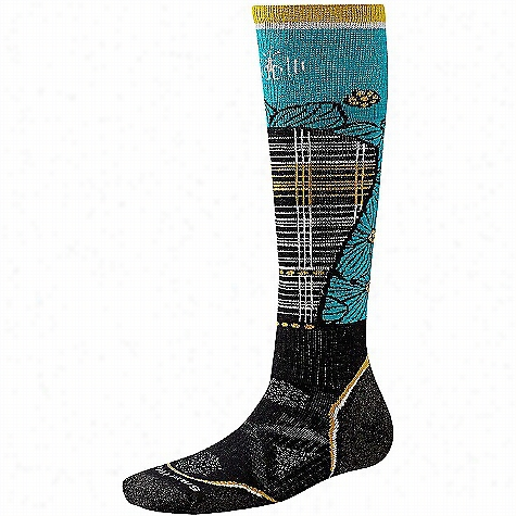 Smartwool Women's PhD Ski Medium Pattern Sock