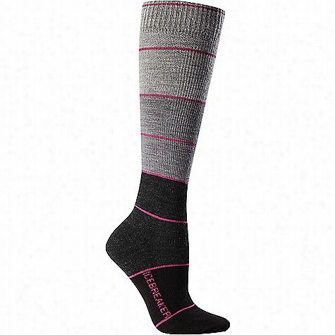 Icebreaker Women's Lifestyle+ Light Compression OTC Sock