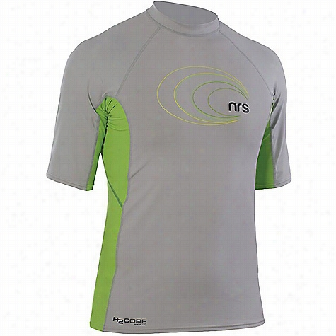 NRS Men's H2Core Rashguard SS Shirt