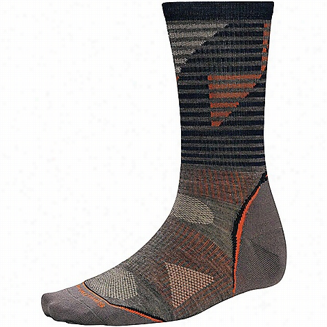 Smartwool PhD Outdoor Ultra Light Pattern Crew Sock