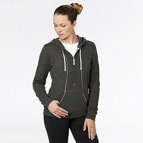 lucy Women's Sexy Sweat Half Zip Jacket