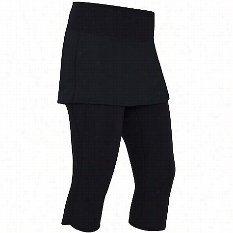 NRS Women's HydroSkin 0.5 Capris with Skirt