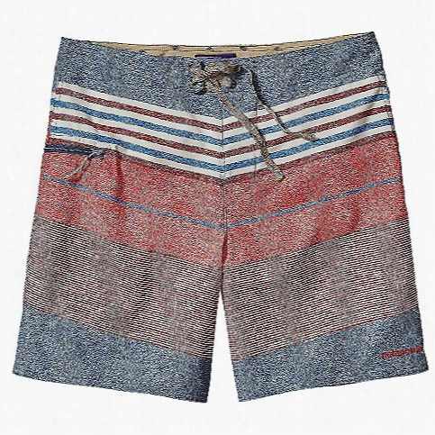Patagonia Men's Printed Stretch Planing 18 IN Board Short