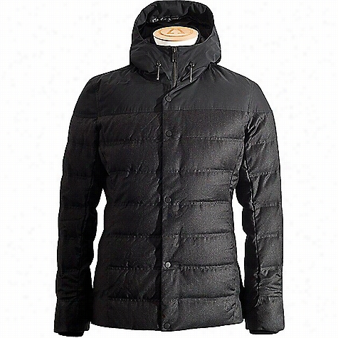 Alchemy Equipment Men's Wool Performance Down Hooded Jacket