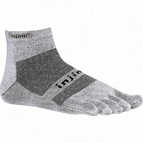 Injinji Run Lightweight Mini Crew Toesock